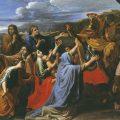 コリオラヌスに哀訴する妻と母 ≪ニコラ・プッサン作≫ 1652-1653年頃 ニコラ・プッサン美術館所蔵 © Christophe Deronne