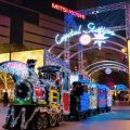 Popular illumination train *Images of last year's event