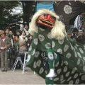 【福岡市無形⺠俗⽂化財】今宿⻘⽊獅子舞
