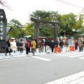 1000年以上の歴史を誇る筥崎宮からスタート!