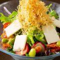 【豆腐サラダ】とろける絹ごし豆腐サラダはランチでのみご提供