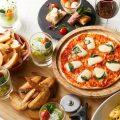 平日の夜はピザで飲み放題はいかがですか