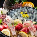 産地直送の新鮮な旬の活魚を贅沢にご堪能頂けます。