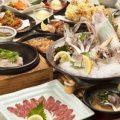 活ヤリ付九州旨いものコ-ス料理6000円→5000円