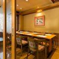 【テーブル個室】お座席が苦手なお客様に人気のお部屋です