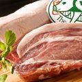 柔らかな肉質とトロける甘みの肉脂が特徴の糸島豚を使った料理♪