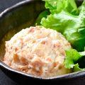 【めんつなポテトサラダ】博多明太子とツナのポテサラをぜひ♪