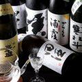 希少な銘柄も揃う日本酒・焼酎