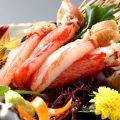 お刺身丸海屋人気NO.1甘くて美味しい【生ずわい蟹刺し】1780円