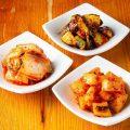 【箸休め】キムチやナムルの盛り合わせが人気!おつまみに◎