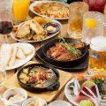 【コース】魚料理をメインに肉料理も堪能できる内容が自慢