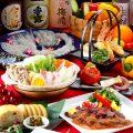 飲み放題付宴会コースは3500円〜ご用意。
