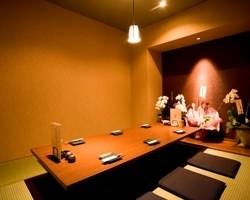 ゆったりと癒しの空間の個室です★(9名様までOK!)