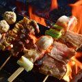 炭火焼鳥多数!必食のごち焼きはモモ、豚バラをご用意!270円〜