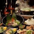 もつ鍋・お刺身・牛サガリの炙りなど名物満載で充実のコース!