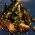 福岡では、ごまさば(サバのごま醤油あえ)食べてくださいネ。