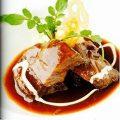 国産和牛ホホ肉の煮込み