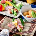 【食材】地元糸島の新鮮な野菜や魚介類をふんだんに使用