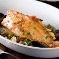 南イタリア定番 鮮魚のアクアパッツァ