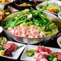 【ランチコース】博多名物もつ鍋と馬刺しを味わえる笑楽極御膳