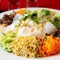 【五彩拉皮】野菜たっぷりでヘルシー!見た目にも鮮やかな逸品