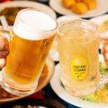 【ドリンク】宴の始まりはビールやハイボールで乾杯しましょう