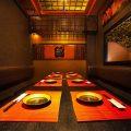 宴会最大12名様別邸は15〜30名様までOK!全席完全個室です。