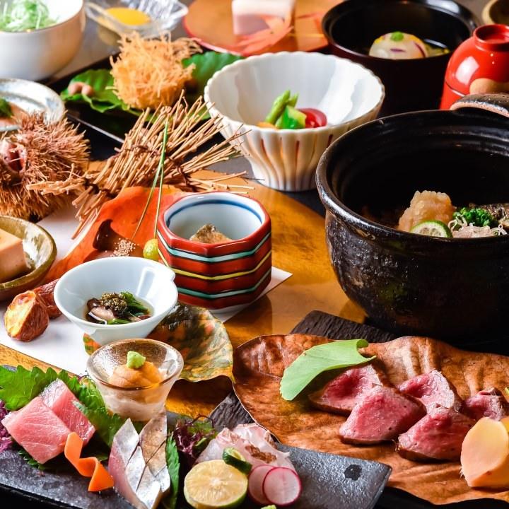 【季節の一皿】豊かな旨味と香りを纏った時期ならではの品々