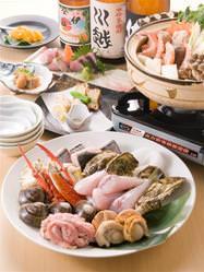 海鮮鍋コース 3,500
