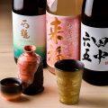 【日本酒】お料理との相性を考えて厳選した全国各地の銘酒