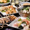 【宴会料理】鍋とお刺身を同時に味わえる贅沢なコースも◎