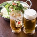 【ドリンク】定番のビールからカクテルまで幅広くご用意◎