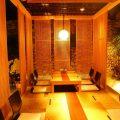 個室は最大12名様までご利用可能。