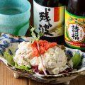 沖縄のお酒も多種揃えております。料理との相性も抜群です!