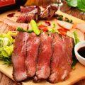 肉プレート&絶品鍋蔵元・日本酒と♪