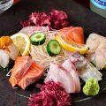 [新鮮旬魚]壱岐直送の厳選鮮魚を刺身でご堪能ください