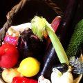 地産地消の地元食材、全国各地の珍しい野菜をふんだんに使用