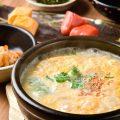 【土鍋雑炊御膳】地どりのガラから5時間かけて作るスープが◎