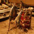 3つの調理方法「炉端焼・原始焼・藁焼」がお楽しみ頂けます