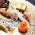 【和の心】シャリとネタの絶妙なバランスが美味な握り寿司