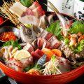 ■お造り盛り合わせ■珍しい鮮魚も!日替わりで13種ご提供