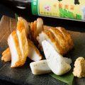 鹿児島の郷土料理もございます!さつま揚げの盛り合わせ