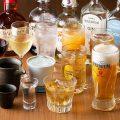 【豊富なドリンク】充実のラインナップ!焼酎や日本酒も◎