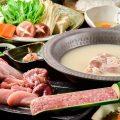 【各種宴会に】飲み放題付コースは水炊きも日本酒も味わえます