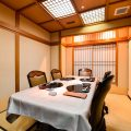 バリエーションに富んだ部屋を7部屋ご用意。
