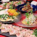 【コース】人気料理をふんだんに詰め込んだコースは飲み放題付