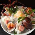 刺身盛り合わせ魚本来の旨みをご堪能下さい。