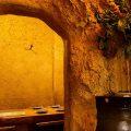 【洞窟個室】ワクワクするような個室空間。人気の秘密の部屋
