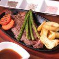 良いお肉をリーズナブルに!1番人気は牛サガリサイコロステーキ