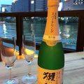 風を感じながら飲むお酒はまた格別!
